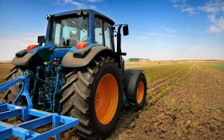 Давление на почву трактором