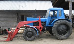 Кун на заднюю навеску трактора МТЗ