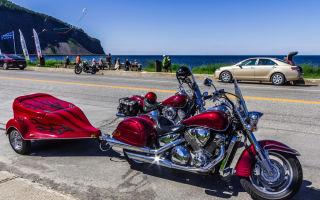 Прицеп для мотоцикла: как сделать или купить самостоятельно?