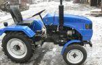Китайские трактора для домашнего использования