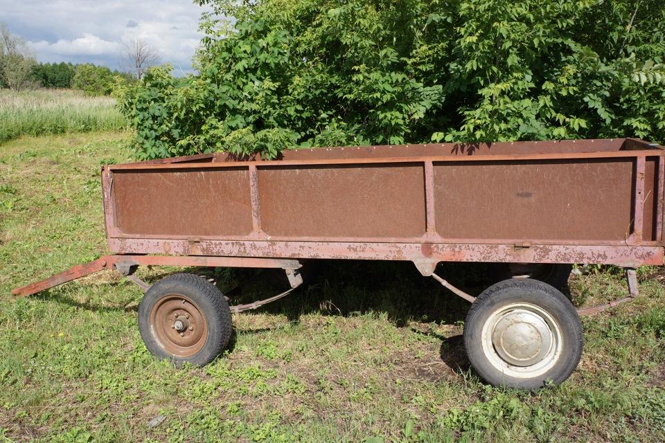 Самодельные прицепы для тракторов: как сделать прицеп?