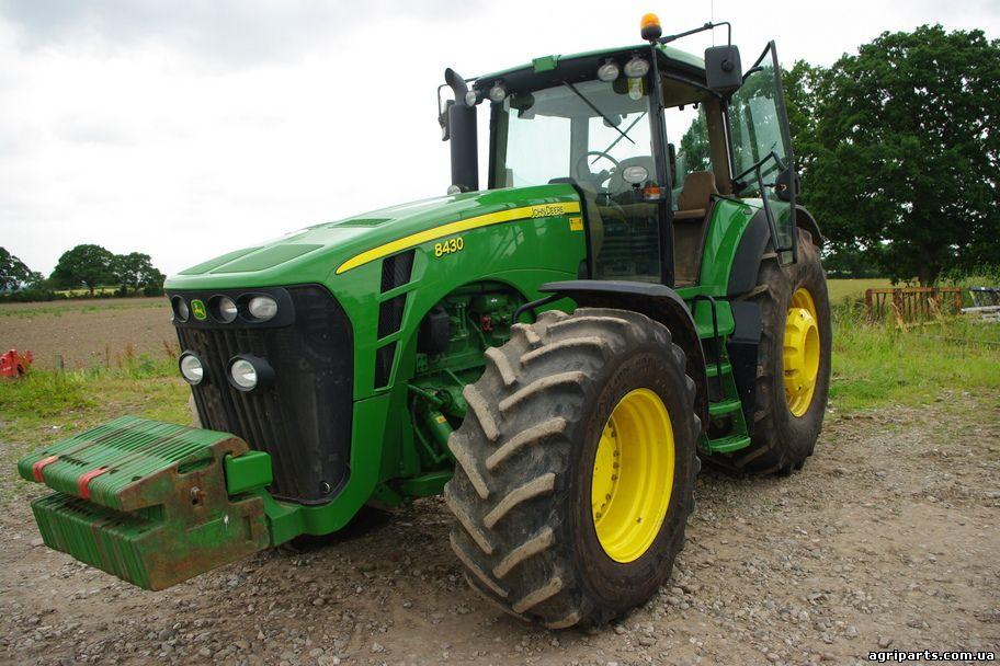 Трактор Джон Дир 8430: характеристики и особенности