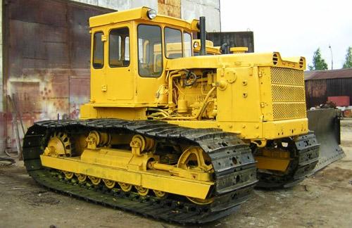 Трактор Т-130: технические характеристики и описание