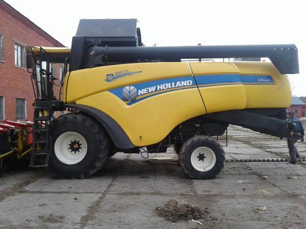 Комбайн Нью Холланд 6090 – характеристика, цена, обзор