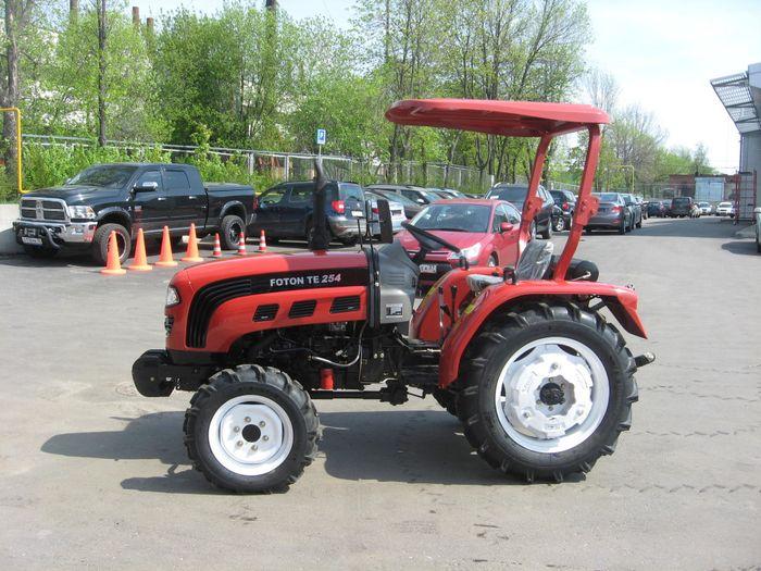 Китайские тракторы Фотон: характеристики моделей