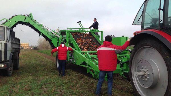 Комбайн для уборки моркови: классификации, ведущие производители