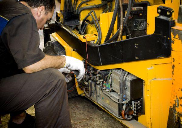 Руководство по ремонту фронтального погрузчика