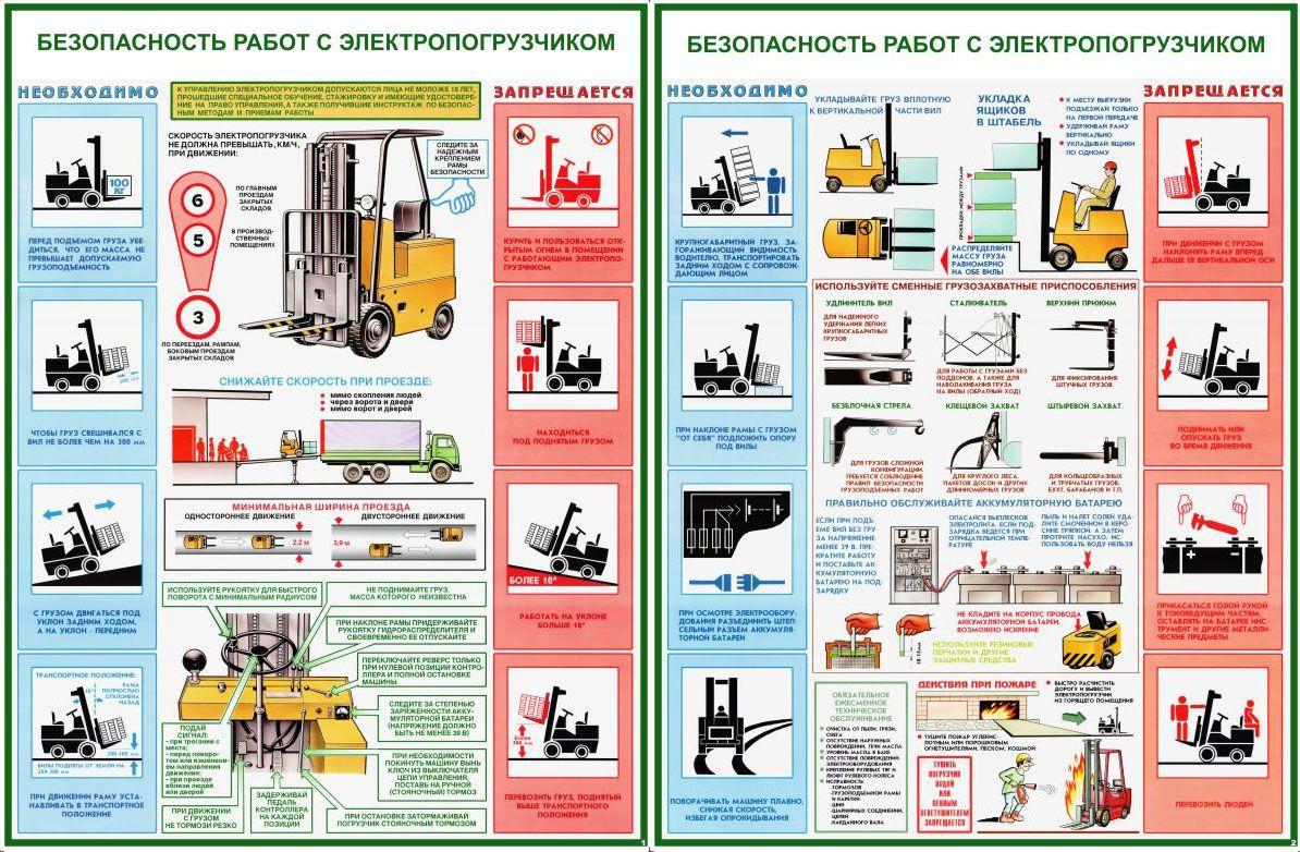Инструкция по эксплуатации погрузчиков: вилочных и фронтальных