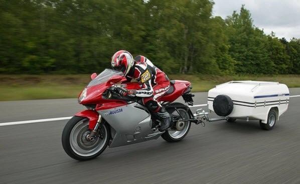 прицеп для кроссового мотоцикла