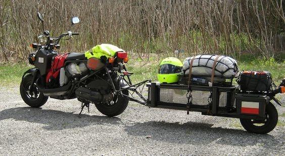 прицепы для мотоцикла