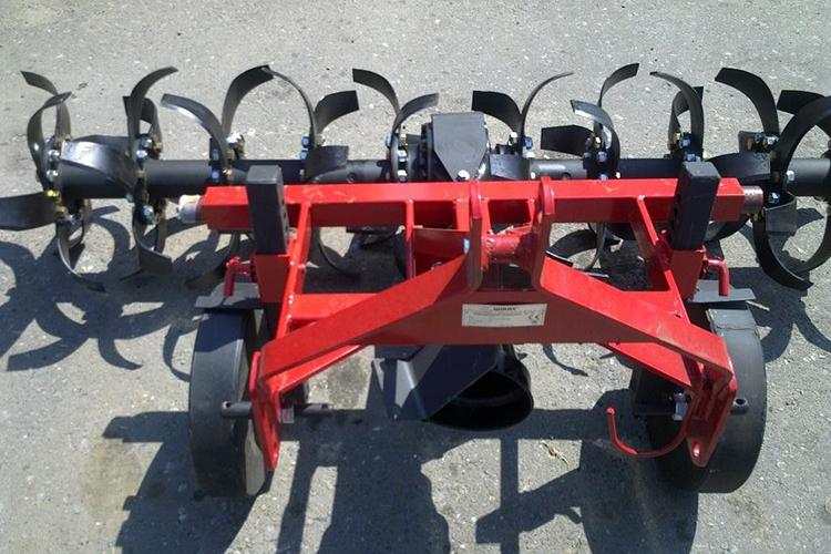 Горизонтальные почвофрезы на трактор