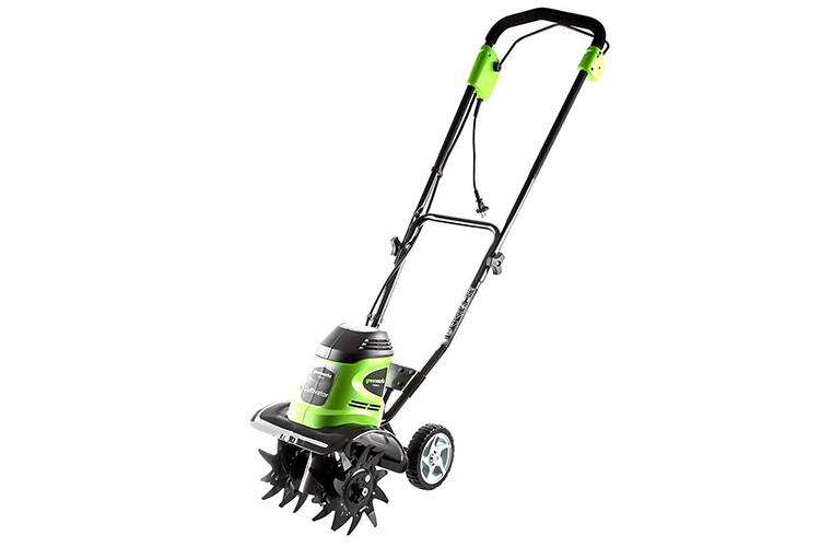 Культиватор Greenworks GTL9526