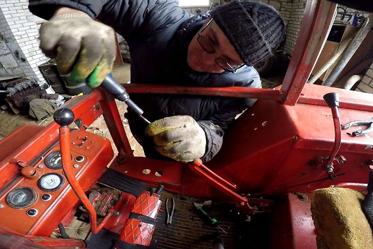 Трактор Т-25 - ремонт