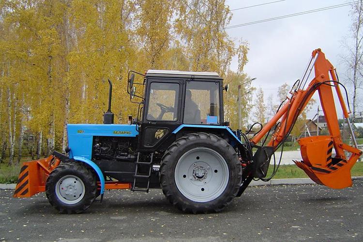 Экскаватор ЭО-2621 на базе МТЗ-82 Беларус