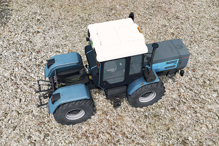 Трактор ХТЗ-17221 - устройство
