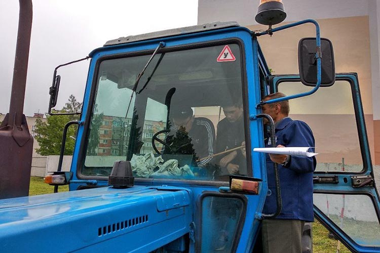 Обучение для получения прав на трактор