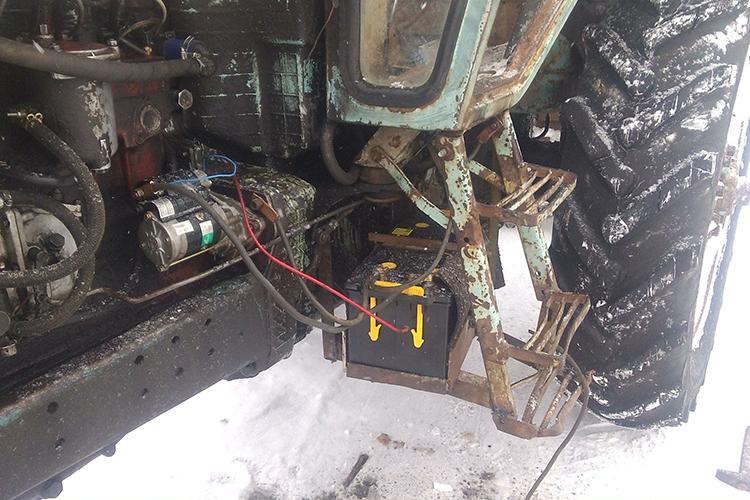 Аккумулятор трактора