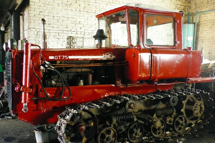 Ремонт и обслуживание трактора