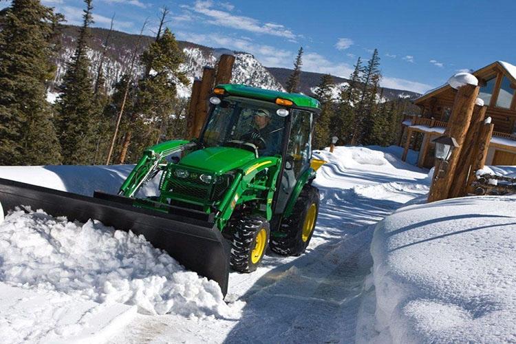 Эксплуатация трактора зимой