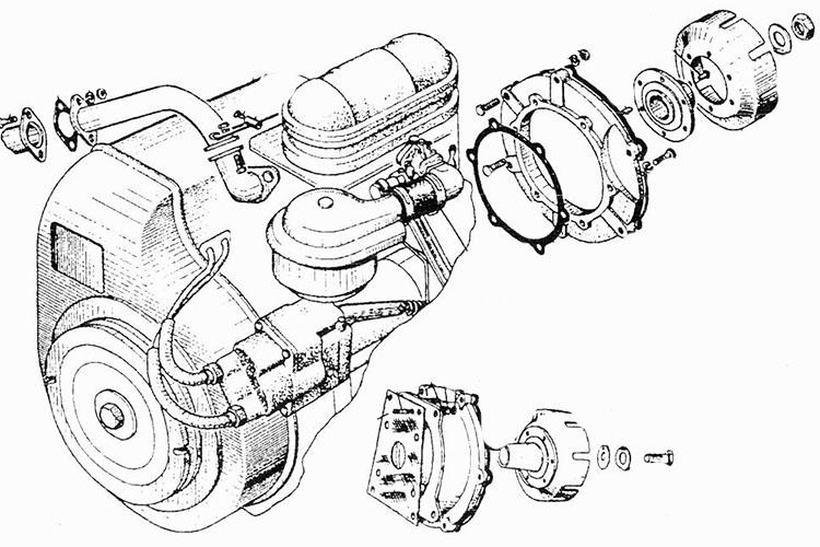 Устройство двигателя трактора МТЗ 82