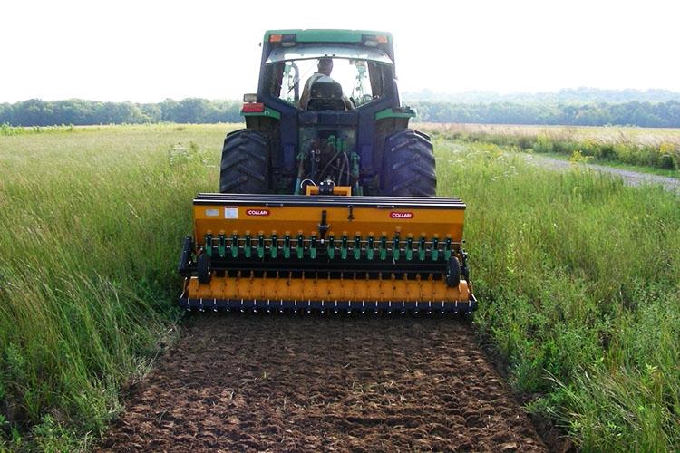 Трактор с фрезой