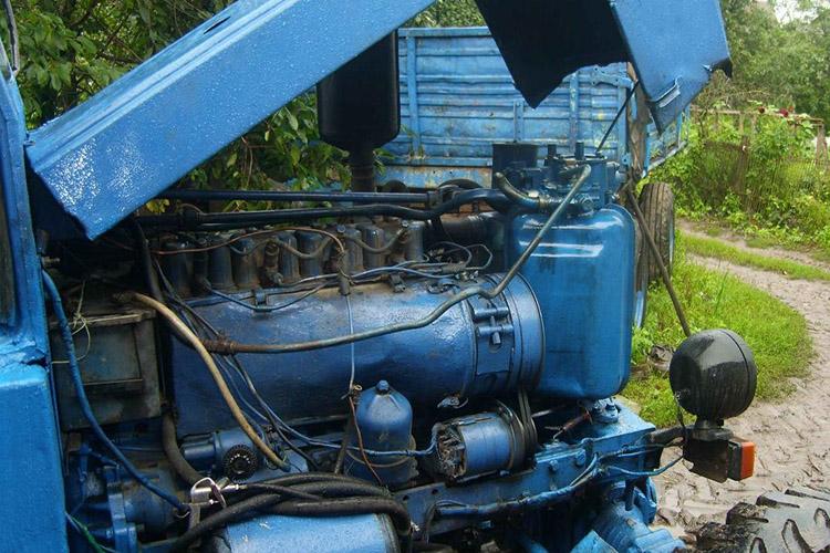 Двигатель трактора Т40