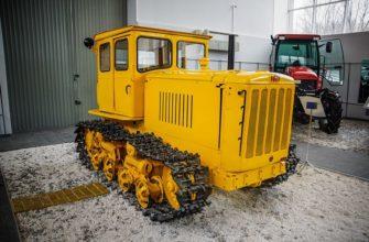 Назначение гусеничного трактора
