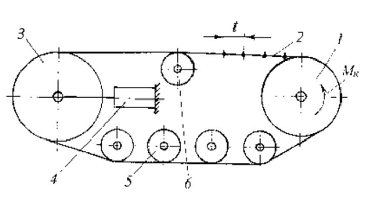 Движитель гусеничного трактора