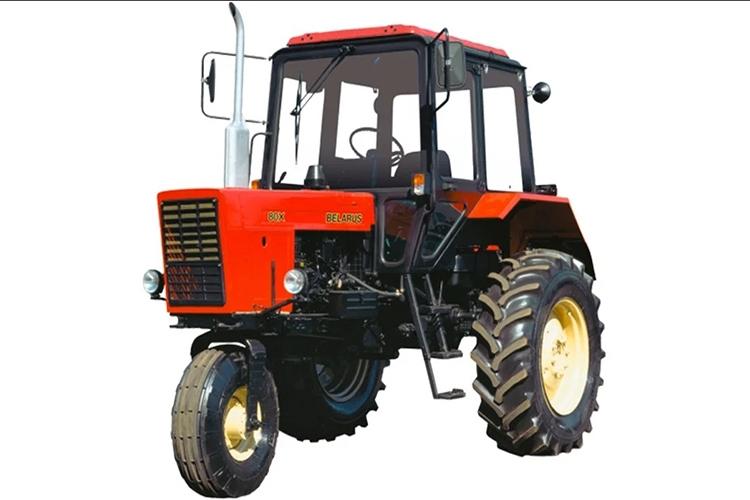 Трёхколесный трактор