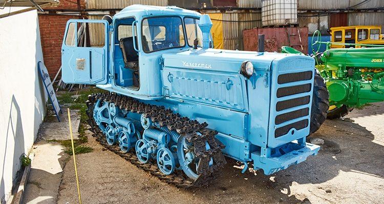 Обслуживание трактора ДТ-75