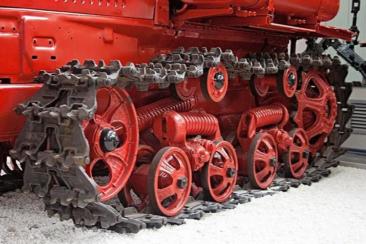 Ходовая трактора ДТ-75